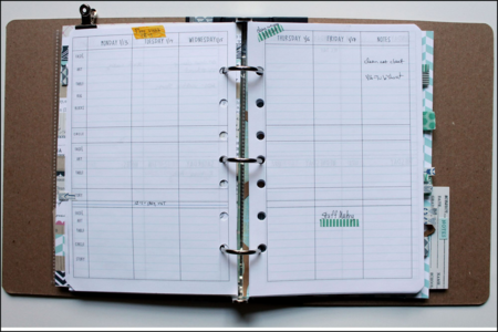 Lesson plan page