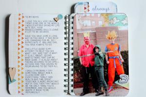 Mini album page 1